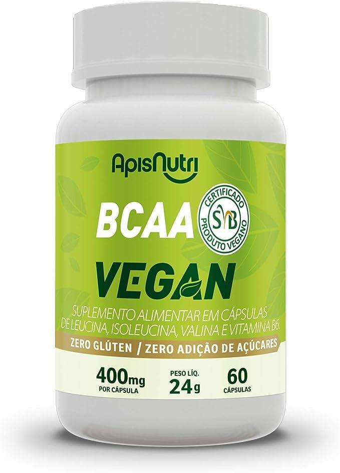 BCAA Vegan 400mg (60 caps), Apisnutri