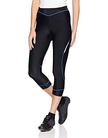 6126b2353d4 4ucycling Women Premium 3D Padded Breathable ¾ Cycling Tights