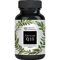 Coenzym Q10 - Hochdosiert mit 200mg pro Kapsel - 120 vegane Kapseln - Pflanzliches Premium Q10 aus Fermetation – Laborgeprüft, vegan & hergestellt in Deutschland
