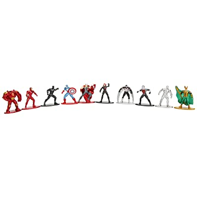 Marvel Nano Metalfigs Die-Cast Mini-Figures 10-Pack: Jada Toys: Toys & Games