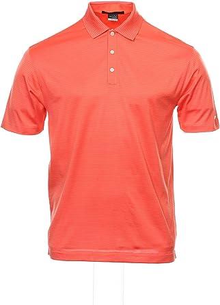 básico Afilar Ecología  Amazon.com: Nike Tiger Woods Collection Striped Polo Shirt Golf (Medium,  Orange): Nike: Clothing