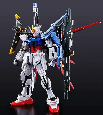 Bandai RG 1/144 GAT-X 105 + AQM/E-YM1 Strike Gundam Model Kit ...
