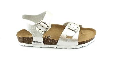 fa8b4bb75afc5 Grunland LUCE SB0646 32 40 Pearl Girl Sandals Anatomical Buckles ...