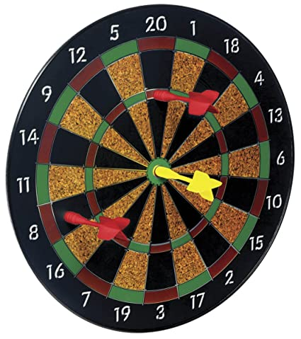 Amazon Com Toysmith Magnetic Dart Board Toys Games
