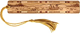 product image for Drift Boat Fishing Engraved Wooden Bookmark with Tassel - Search B07QY4S2JL to See Personalized Version