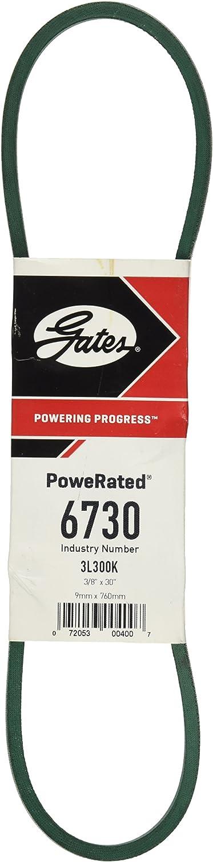 GATES RUBBER COMPANY 6730 POWERATED V-BELT