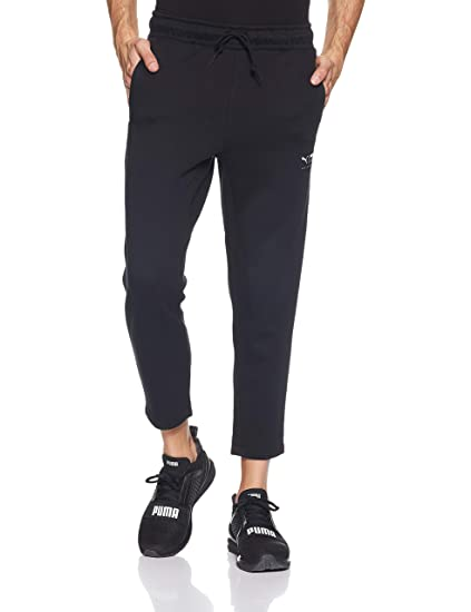 3bc9cebb5719c2 Puma Downtown Cropped Sweat Pants: Amazon.co.uk: Clothing