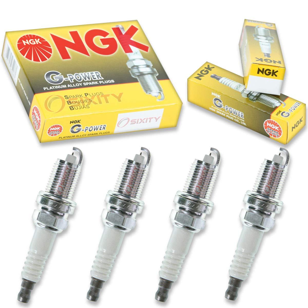 Amazon.com: NGK G-Power 4pcs Spark Plugs Honda Civic 01-05 1.7L L4 GAS Kit Set Tune Up: Automotive