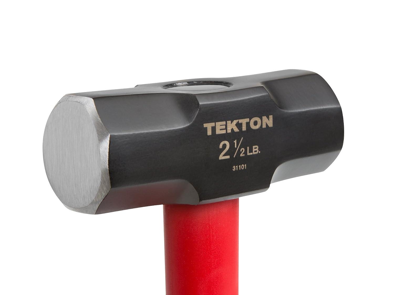 2-1//2-Pound TEKTON 31201 Jacketed Fiberglass Stubby Drilling Hammer