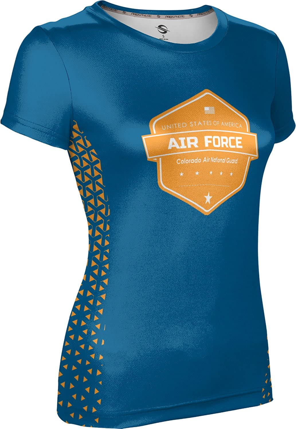 ProSphere Women's Colorado Air National Guard Military Geometric Tech Tee