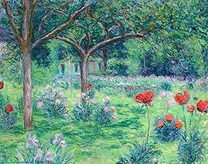 O Jardim de Monet em Giverny (1907) - Blanche Hoschedé