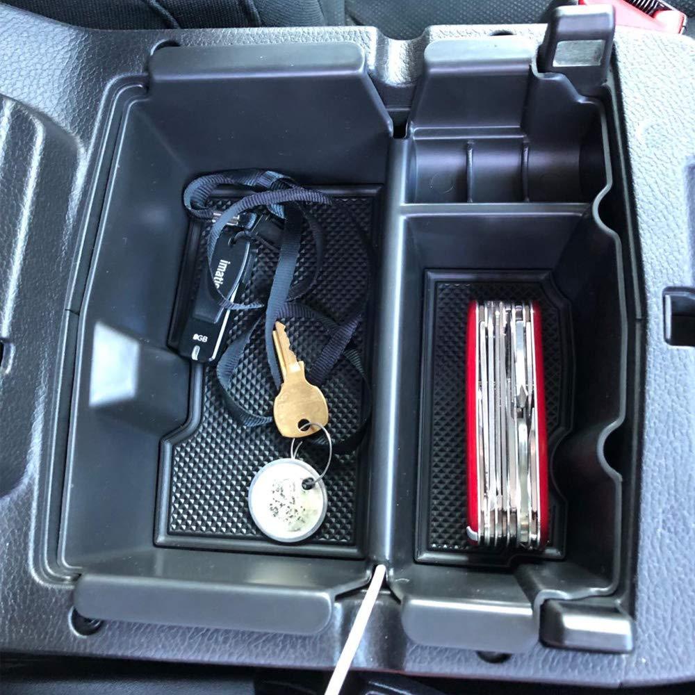 EDBETOS Center Console Organizer Tray Compatible with Jeep Wrangler JL//JLU 2018 2019 2020 Accessories Jeep Gladiator JT Truck 2020 Armrest Storage Glove Box