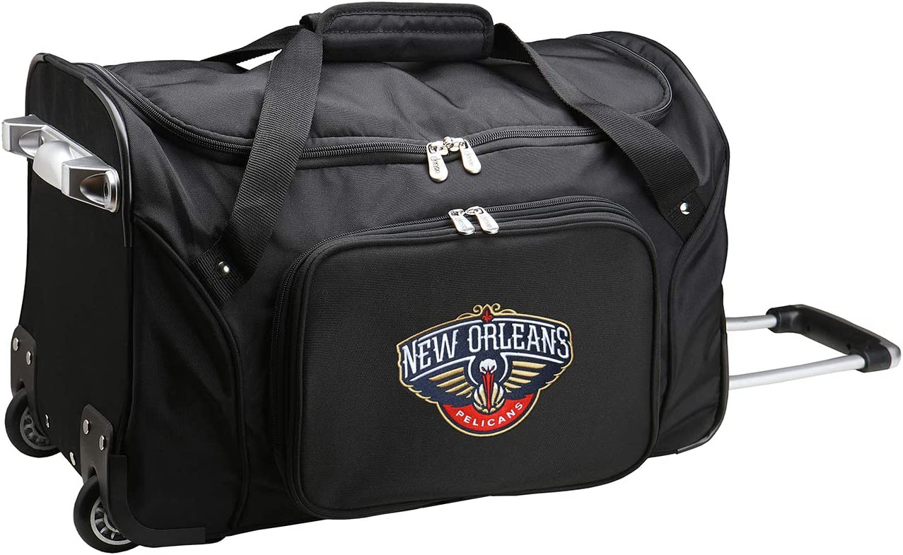 NBA Wheeled Duffel Bag 22-inches