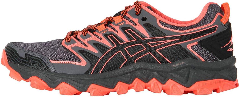 Asics Gel-Fujitrabuco 7 - Zapatillas de running para mujer, color negro, talla 37,5: Amazon.es: Zapatos y complementos
