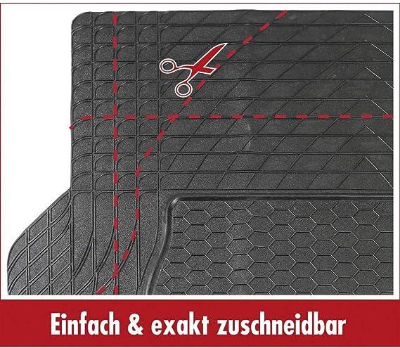 Dino in gomma-Tappetino bagagliaio universale nero da tagliare 140 x 108 cm 130026