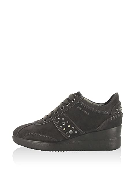 Y Carbón Complementos Amazon Zapatillas Geox es Zapatos Stardust D PxHqHBT
