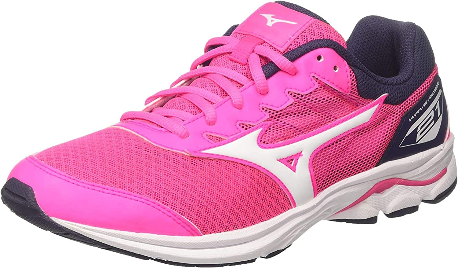 Mizuno Wave Rider 21 Jnr, Zapatillas de Running para Niños: Amazon ...