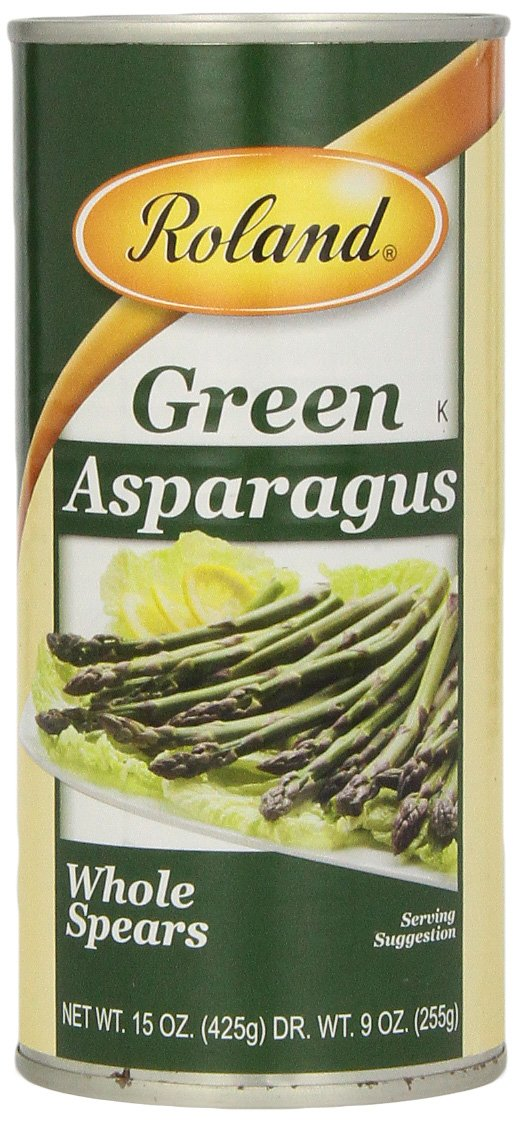 Roland Foods Asparagus, Green Whole Spears, 15 Ounce
