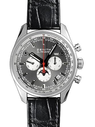 meet d042b 106b8 Amazon   [ゼニス] ZENITH 腕時計 エルプリメロ410 ムーン ...
