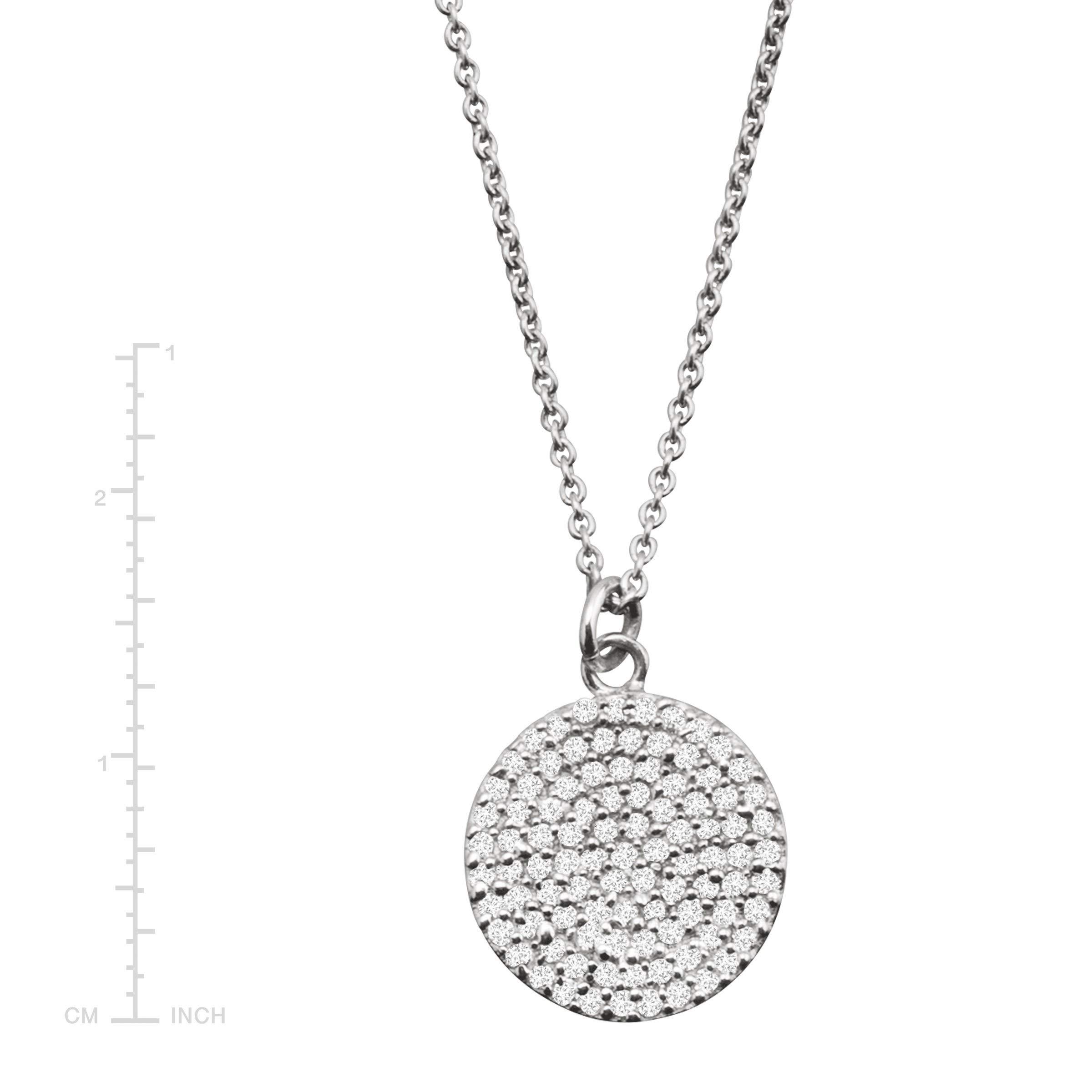 Silpada 'Triple Drop' 1/2 ct Cubic Zirconia Necklace in Sterling Silver by Silpada (Image #4)