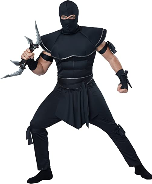 Amazon.com: California Costumes Disfraz de ninja sigiloso ...