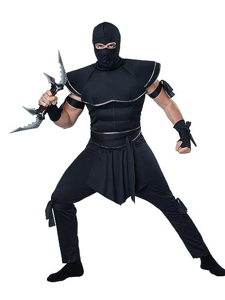 Amazon.com: California Costumes Disfraz de ninja sigiloso ...