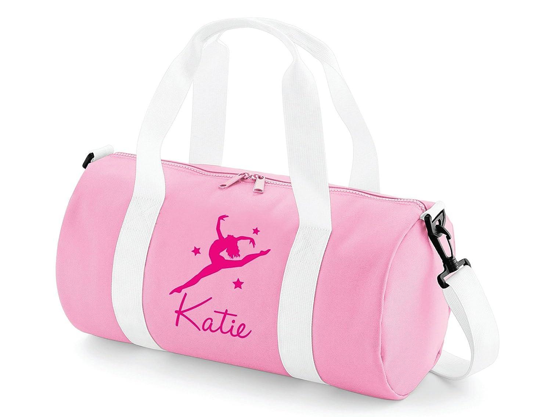 Absolutely Top Girls Personalised Gymnastics Dance Barrel Bag