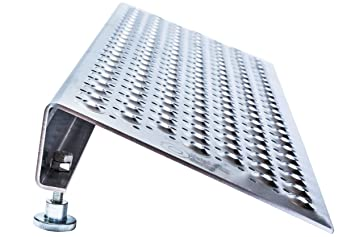 Rampa regulable para scooters, sillas de ruedas y carros, altura de 8 a 14 cm. Aluminio: Amazon.es: Salud y cuidado personal