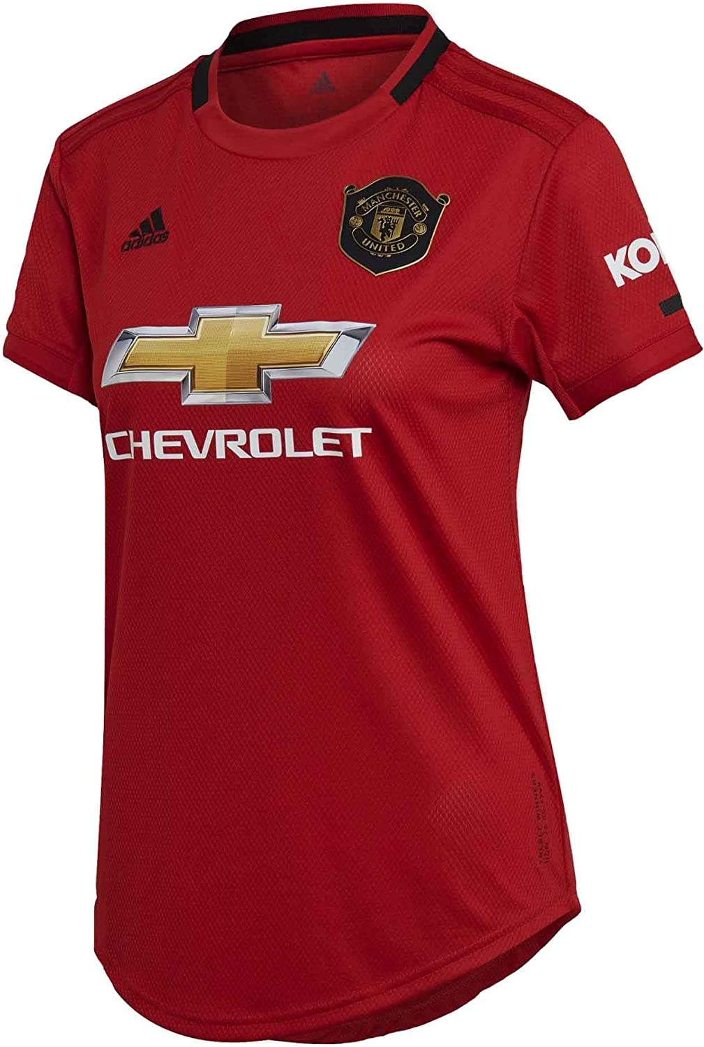 Amazon Com Adidas Women S Manchester United Home Jersey 2019 20 Clothing