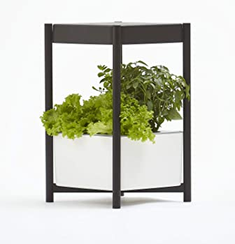 Miracle-Gro Twelve Indoor Growing System Side Table With LED Grow Light