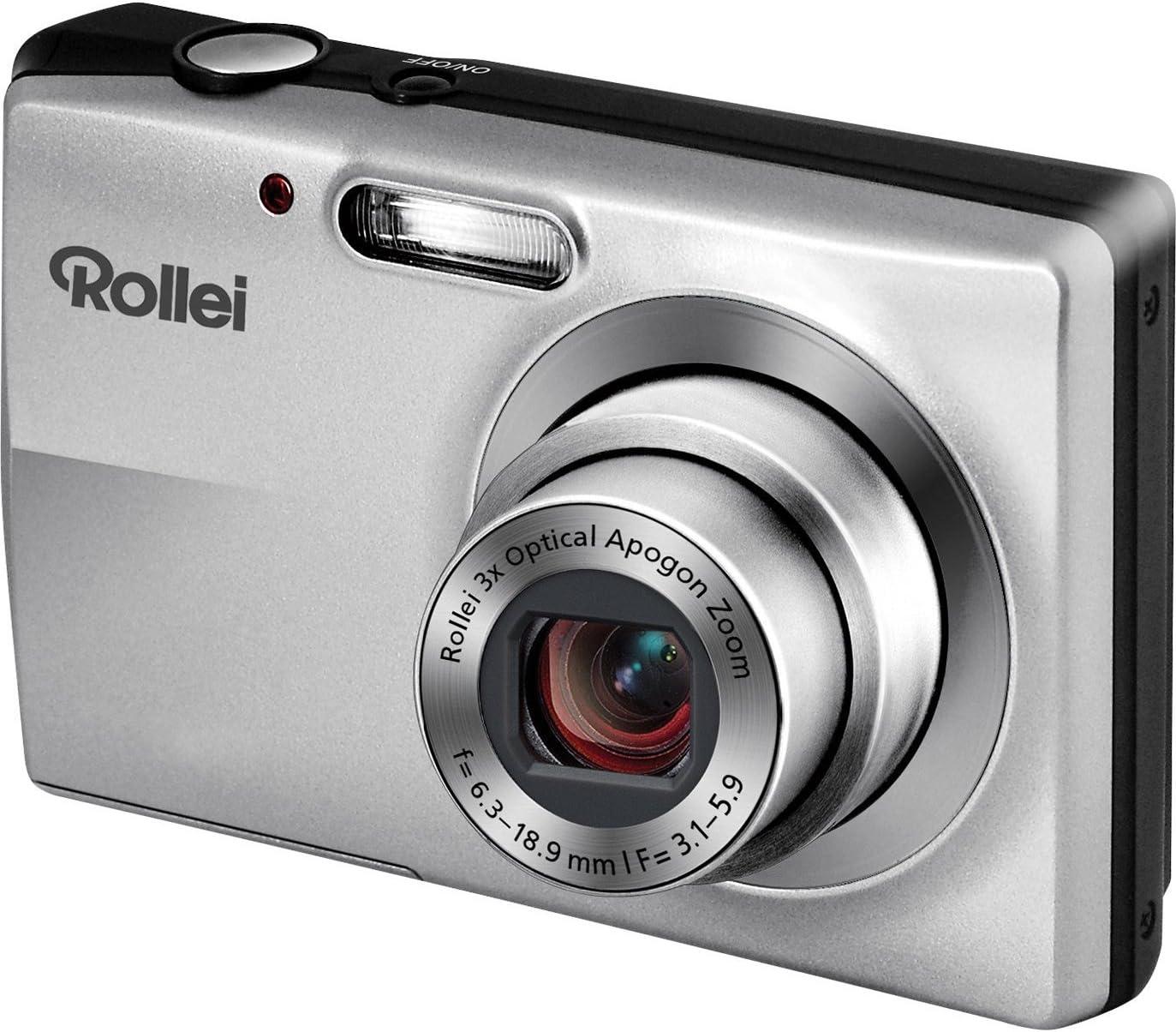 Rollei Compactline 412 Digitalkamera 2 4 Zoll Silber Kamera