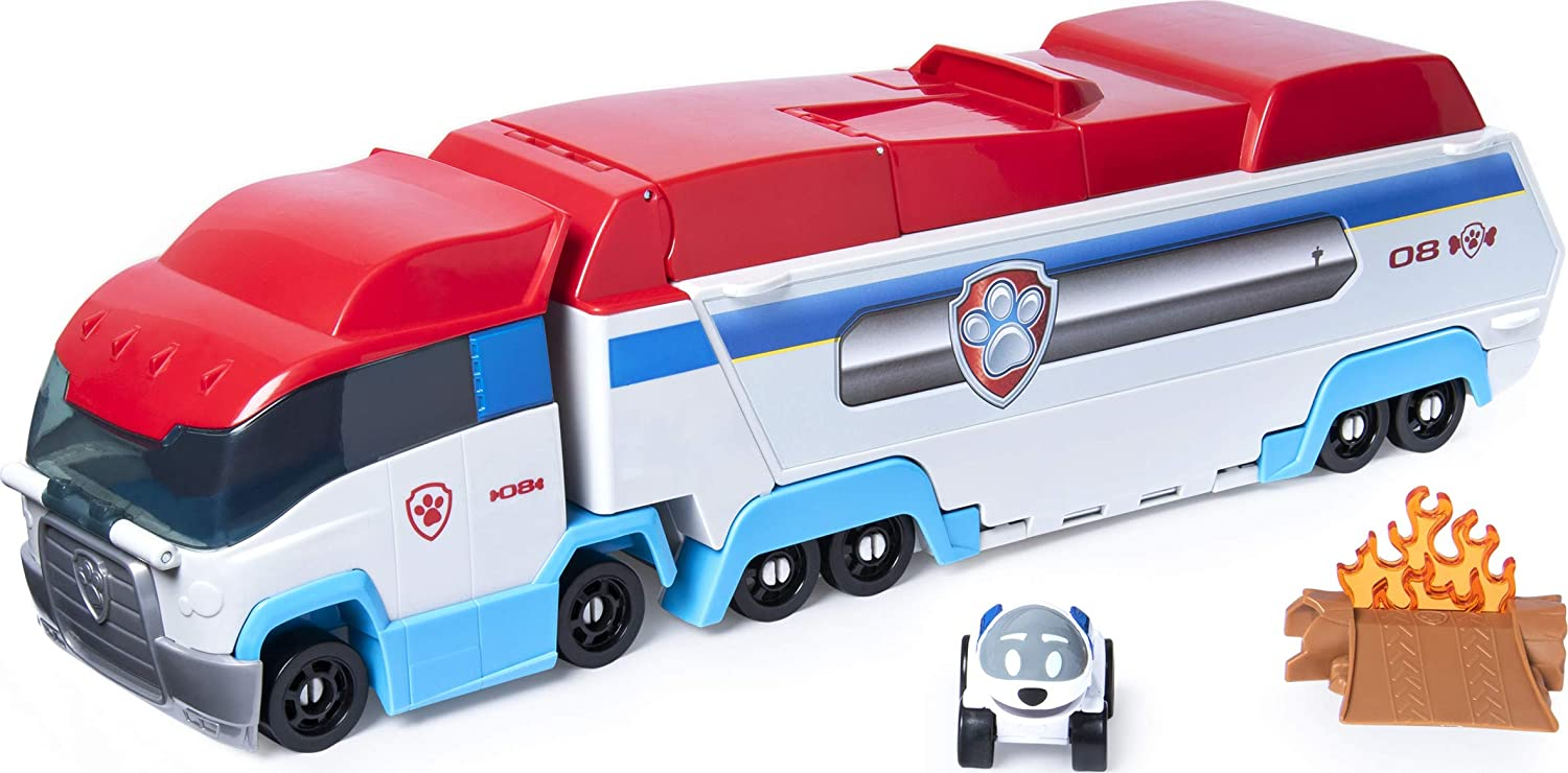PAW PATROL Paw DCT DieCast Launch N Hauler UPCX GML, Multicolor (Spin Master 6053406)