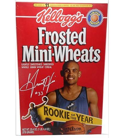 Amazoncom Kelloggs Frosted Mini Wheats 1995 Grant Hill Rookie