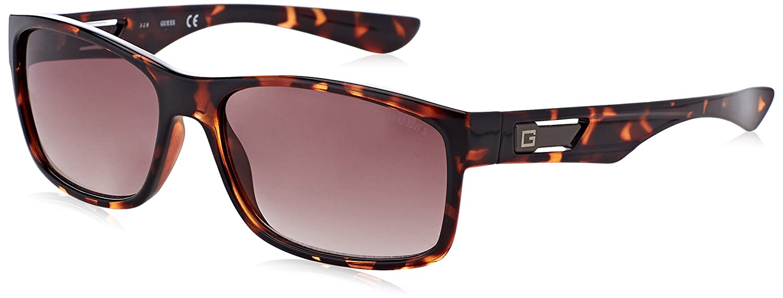 Guess GF5011 Gafas de sol, Marrón (Havana), 59 para Hombre ...