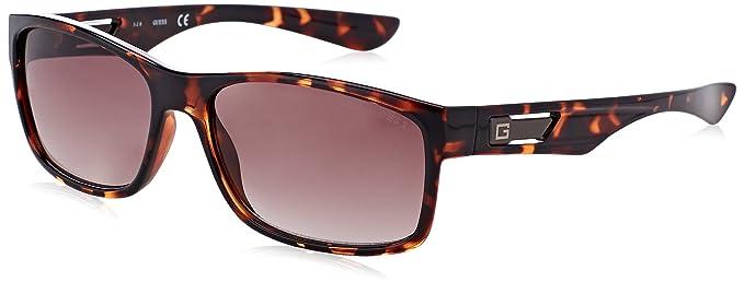 Guess Herren Sonnenbrille GF5011, Braun (Havana), 59