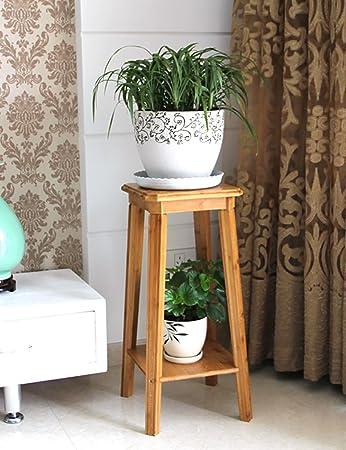 Massivholz-Blumenständer Wohnzimmer Balkon Blume Bambus Zwei Drei ...