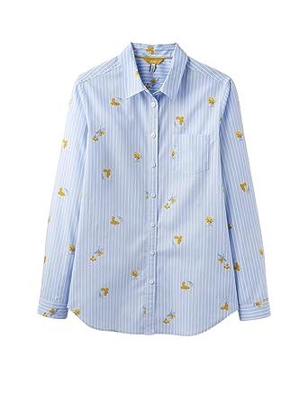 Terrier Lucie Fox Joules Classic Printed Shirt Womens Cream 0xUwqAgC