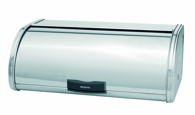 Brabantia Storage Touch - Panera de Acero Brillante (tamaño Grande)