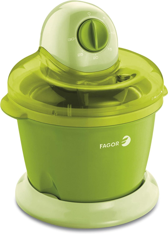 Fagor ICE-16 - Heladera para Preparar sorbetes y Helado, Potencia ...