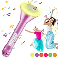 Micrófono Karaoke Bluetooth, Magicfun Microfono Inalámbrico Karaoke con Altavoces Bluetooth Altavoz Función de Eco…