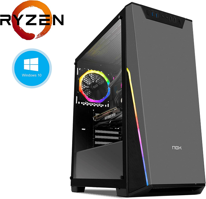 PC Sobremesa **CIB PRO-GAMING Ryzen 5**, 16GB DDR4, 240GB SSD M.2 ...