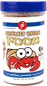 HBH Pisces Pros Variety Bites Hermit Crab Food - Hermit Crabs Need A Nutritious Daily Diet To Ensure Lively Behavior And Growth - Our Live Hermit Crab Food Contains Vitamin Enriched Ingredients