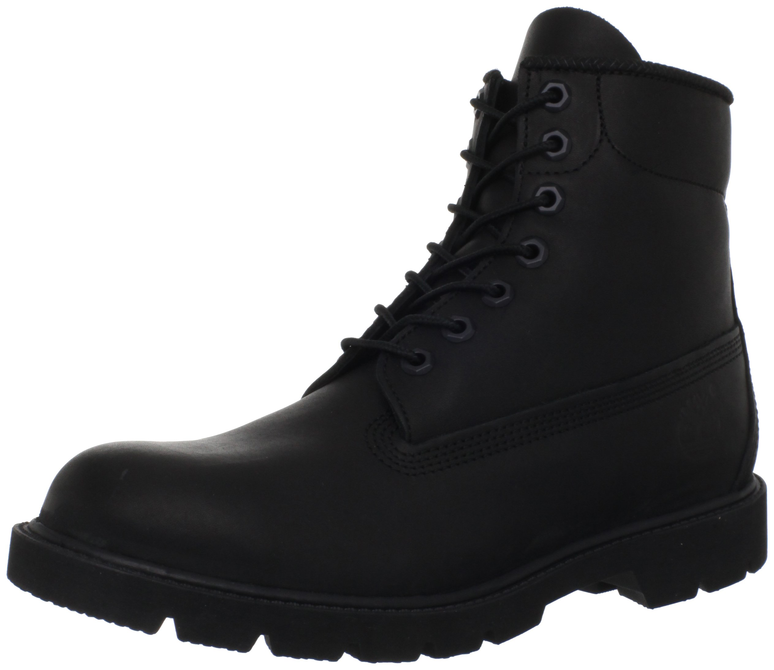 Timberland Men's Six-Inch Basic Boot,Black,9 W US by Timberland