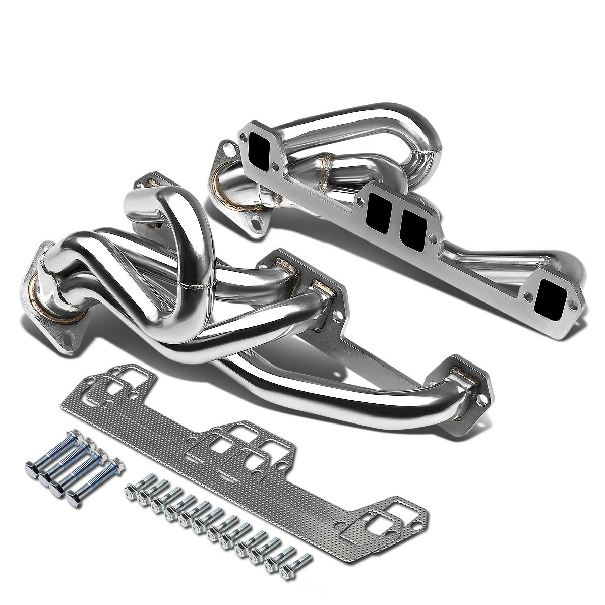 For Dodge Ram 1500/2500/3500 4-1 Design 2-PC Stainless Steel Exhaust Header - 5.9L V8
