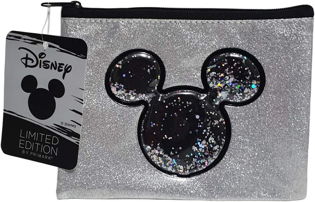 Disney Mickey&Minnie Estuche/Soporte Estacionario Plata Brillante Edición Limitada Primark: Amazon.es: Oficina y papelería