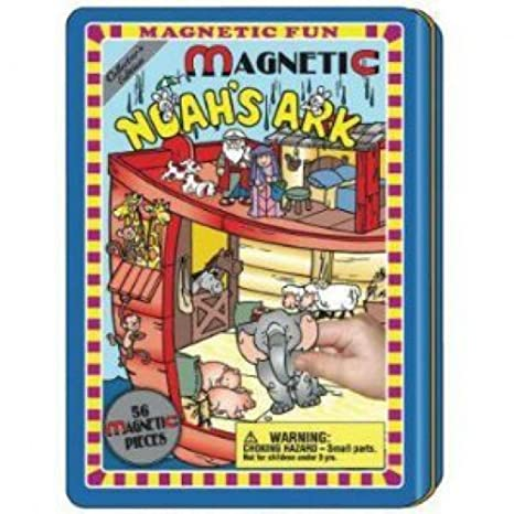 Noah's Ark Magnetic Fun Tin by Lee Publications