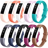 Vancle Fitbit Alta HR Bands and Fitbit Alta Bands (10 PACK), Classic Accessory Alta HR and Alta Bands Replacement Wristbands for Fitbit Alta and Fitbit Alta HR