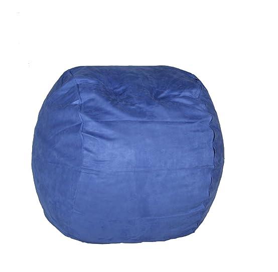 Amazon Cozy Sack 3 Feet Bean Bag Chair Medium Sky Blue Kitchen Dining