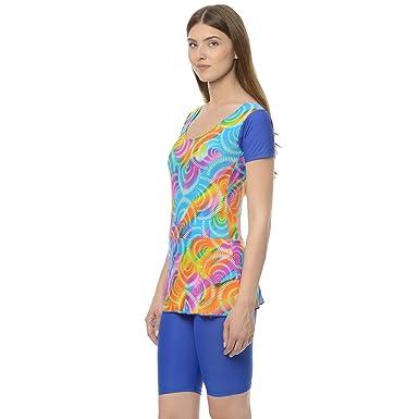 f5f1770727903 Da Intimo Women's Multicoloured Removable Padding Printed Swimwear:  Amazon.in: Clothing & Accessories