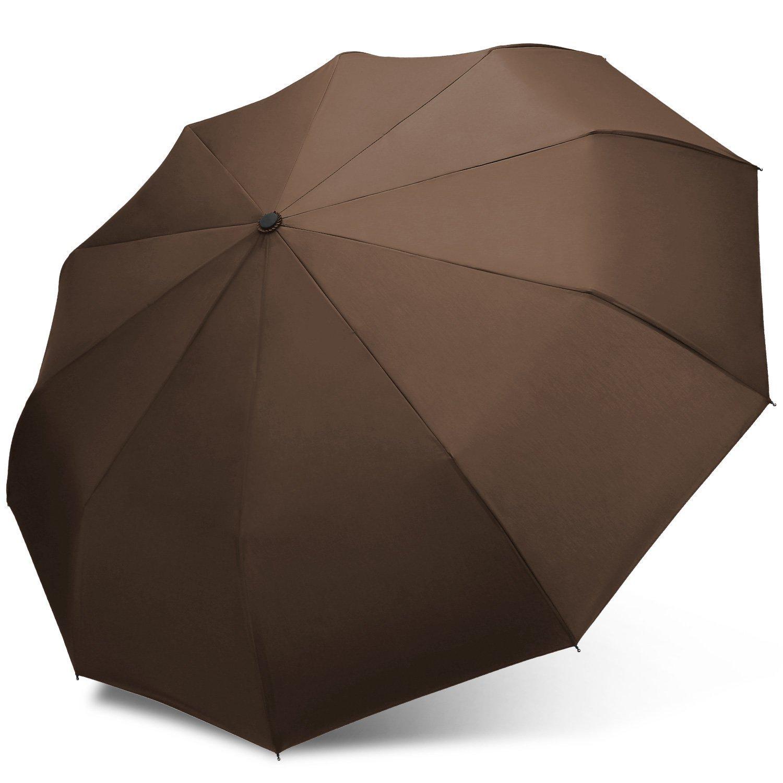 Junefish Travel Windproof Umbrella Unbreakable Automatic Compact Umbrellas...
